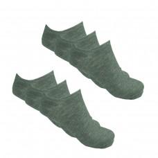 Ανδρικές κάλτσες αστραγάλου μονόχρωμες  Πακέτο προσφοράς 6 ζευγαριών