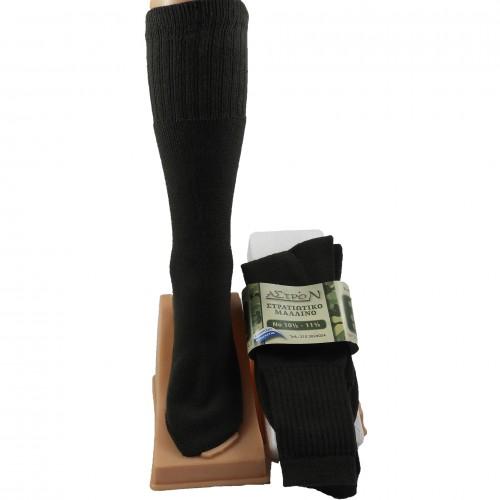 Ανδρικές κάλτσες Στρατιωτικές Μάλλινες-kaltsakia.gr 398f3d03d57