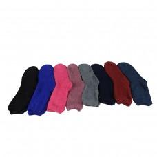 Γυναικείες κάλτσες Μπουρνουζε βαμβακερές μονόχρωμες