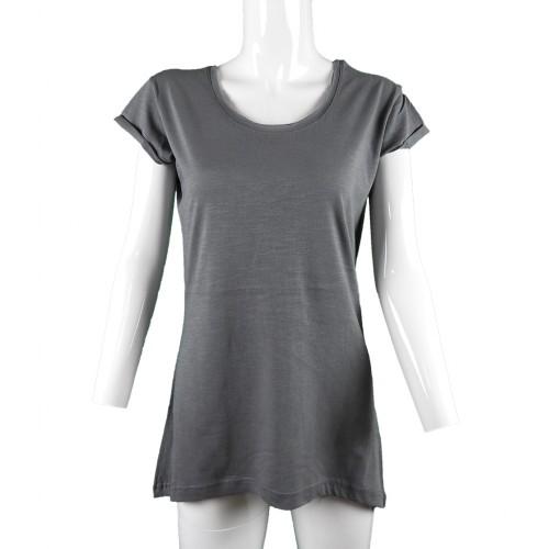 44fd267d00f9 ... Γυναικεία Μπλούζα λαιμόκοψη flama Body Move