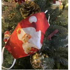 Υφασμάτινες Μάσκες Προστασίας παιδικές Χριστουγεννιάτικες σχέδιο 3