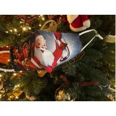 Υφασμάτινες Μάσκες Προστασίας παιδικές Χριστουγεννιάτικες σχέδιο 5