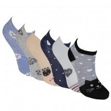 Παιδικές κάλτσες αστραγάλου για κορίτσι