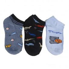 Παιδικές κάλτσες αστραγάλου για αγόρι σχέδιο 4