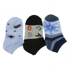 Παιδικές κάλτσες αστραγάλου για αγόρι σχέδιο 5
