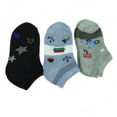 Παιδικές κάλτσες αστραγάλου για αγόρι σχέδιο 6