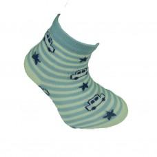 Παιδικές κάλτσες bebe για αγόρι σχέδιο αυτοκινητάκι