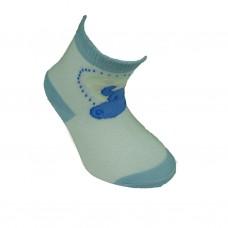 Παιδικές κάλτσες bebe για αγόρι σχέδιο ιπποπόταμος