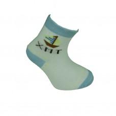 Παιδικές κάλτσες bebe για αγόρι σχέδιο καράβι